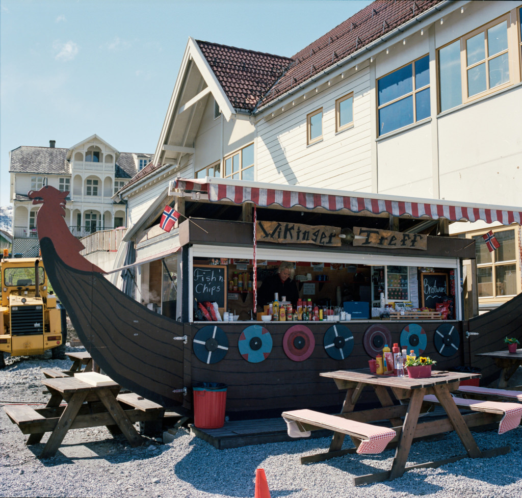 Viking Ship Wurst Shop
