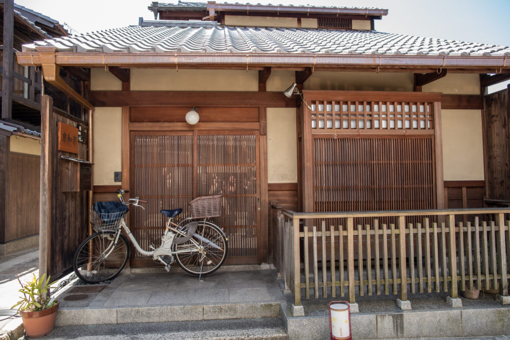 Traditional house in Kyoto